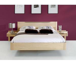 L lit pour literie en 90 x190 ou  140 x 190 ou 160 x 200 ou 180 x 200cm.