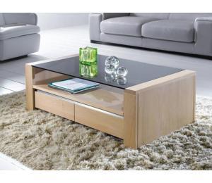 Y Table basse 1 tiroir 110x60 H38 cm
