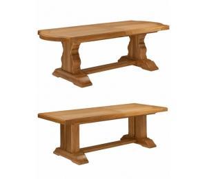 Table monastère. Plusieurs dimensions possibles. + allonges.