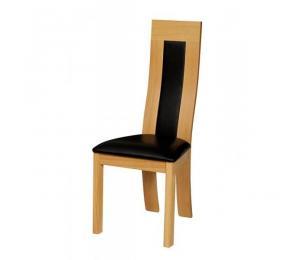 Chaise 1075. Hauteur 108 cm. Assise et dos garnis seulement.