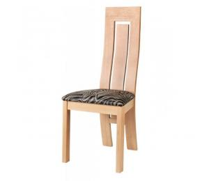 Chaise 1065. Hauteur 108 cm. Assise garnie. (Possibilité assise bois).