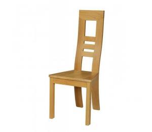 Chaise 1060. Hauteur 108 cm. Assise bois.