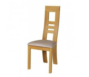 Chaise 1060. Hauteur 108 cm. Assise garnie.
