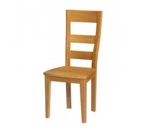 Chaise 1100. Hauteur 102 cm. Assise bois.