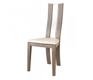 Chaise 1460. Hauteur 101.5 cm. Assise garnie. Palmette bois. (Possibilité assise bois)