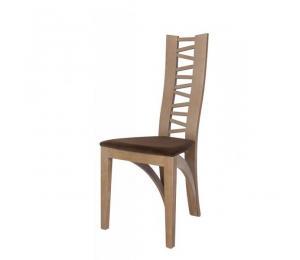 Chaise 1440 ARC. Hauteur 101.5 cm. Assise garnie. (Possibilité assise bois)