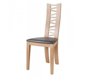 Chaise 1440 . Hauteur 101.5 cm. Assise garnie. (Possibilité assise bois)