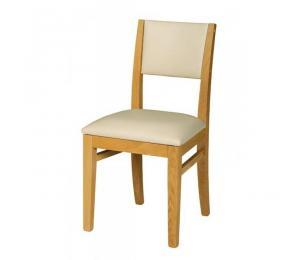 Chaise 1330. Hauteur 90 cm. Assise et dos garnis seulement.