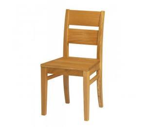 Chaise 1300. Hauteur 90 cm. Assise bois.