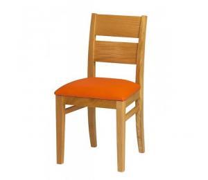 Chaise 1300. Hauteur 90 cm. Assise garnie.