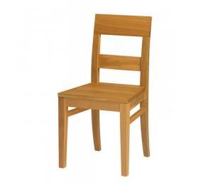 Chaise 1310. Hauteur 89.5 cm. Assise bois.