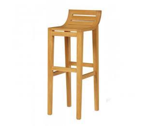 Tabouret assise bois 471.  Hauteur siège 65 ou 80cm.