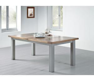 R Table rectangulaire L190x100 +1 ou 2 allonges de 40cm ou L160x100 + 1 allonge de 50cm