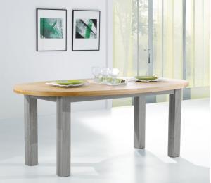 R Table ovale L190x110 + 1 ou 2 allonges de 40cm