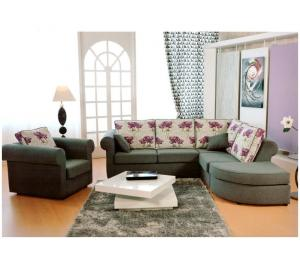 Canapé d'angle et fauteuil TONY