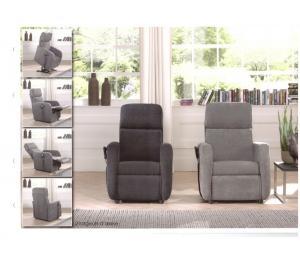 Fauteuils O possibilité de 5 versions de relaxation (Manuel, 1 moteur, 2 moteurs, Releveur 1 moteur ou releveur 2 moteurs) 2 largeurs d'assise, 4 conforts d'assise