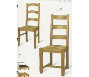 Chaises 415-420