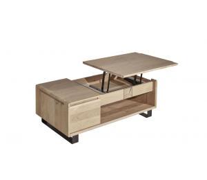 E Table basse dinette ouverte L120 H43 P67cm