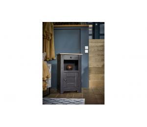 Z Petit meuble 1 porte, 1 tiroir, 1 niche L51 H85 P35cm