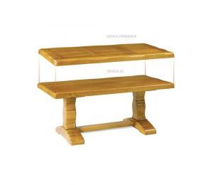 Table de salon monastère pieds lyres