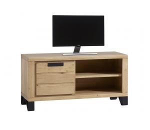 Meuble TV 1 porte, 1 niche L120 H60 P42cm