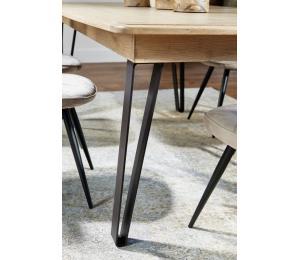 S Détails pieds de table en métal