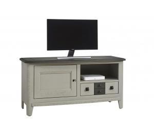 S Meuble TV 1 porte, 1 tiroir, 1 niche L120 H60 P46cm