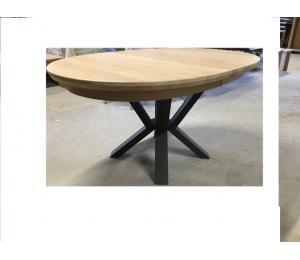 Table ovale 156 X 100cm + 3 allonges de 40cm ou 180/200 X 115 +3 allonges de 40cm