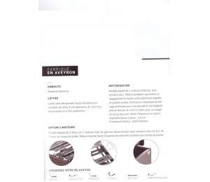 Sommier relevable FUERTE Hauteur version bois 20cm ou hauteur version tissu ou simili 18cm