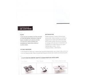 Sommier relevable DUOPLOT hauteur version bois 20cm ou hauteur version tissu ou simili 18cm