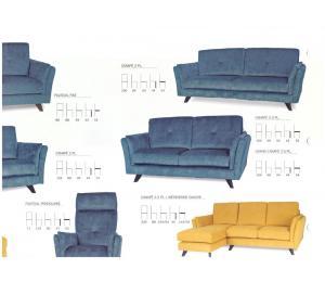 Salon ABELLA différents modèles