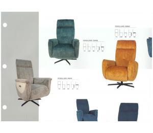 Différents fauteuils pendulaires